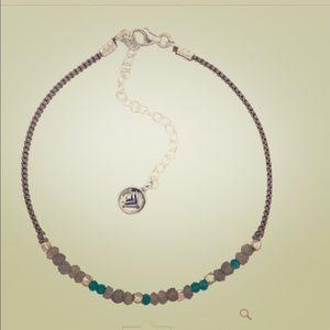 Silpada Velvet Garden Bracelet • Grey